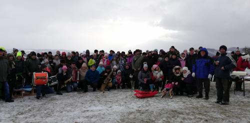 Trojkráľový výstup na Zbyšov - 5. ročník - 06. január 2019