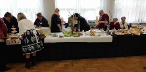 Veľkonočný stôl Strumieň Poľsko
